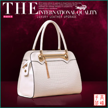 GF-B456 White Ladies Leather Bag Designer Handbags 2014