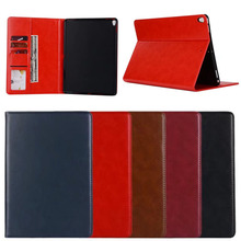 High Quality Plain Smooth Pattern PU Leather TPU Cover Case for iPad Pro 10.5
