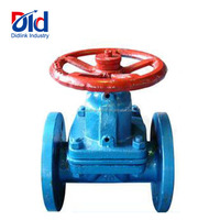 Manual Control Rubber Lined Type Advantage Saunder Asahi Stainless Steel Weir Diaphragm Valve