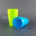 Stocked plastic cups,recycled teeth brush cup for everyone