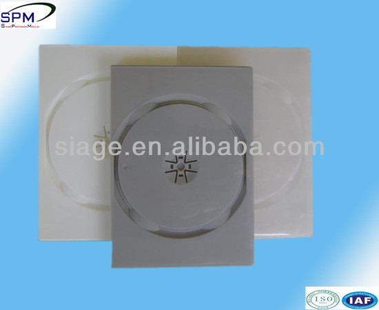 China plastic injection cd dvd case moulds