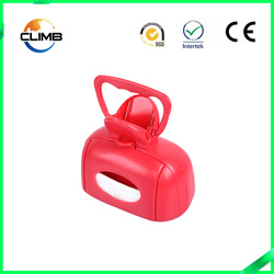 China new design pet cleaning and grooming product high quality plastic pet dog pooper scoopers