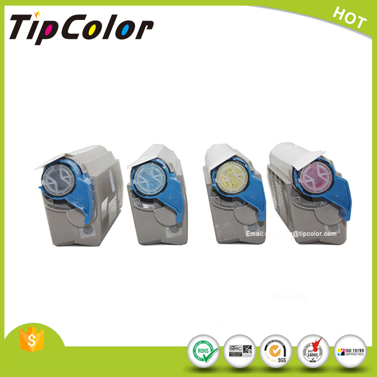 TipColor printer white toner for compatible OKI C711WT White Toner Cartridge