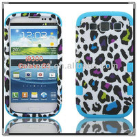 2014 new super robot phone case for samsung galaxy S3/9300 with leopard print