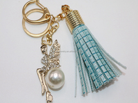 Tassels Key Chain Metal Accessries Key Ring Women Bags Accessories Hanging Drop Car Hanging