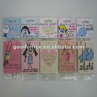 long fragrance and factory manufacture advertising gift hanging paper air freshener for car