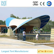 High quality PVC Coated Tensile Fabric Structural Carport Shade