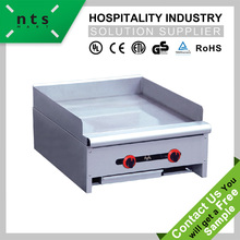 stainless steel Gas Flat Griddle , Gas Grill Griddle