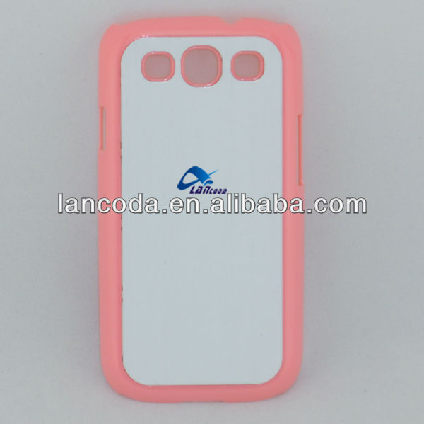 Sublimation Rubber Cases for Samsung Galaxy S3 i9300 Case,different color