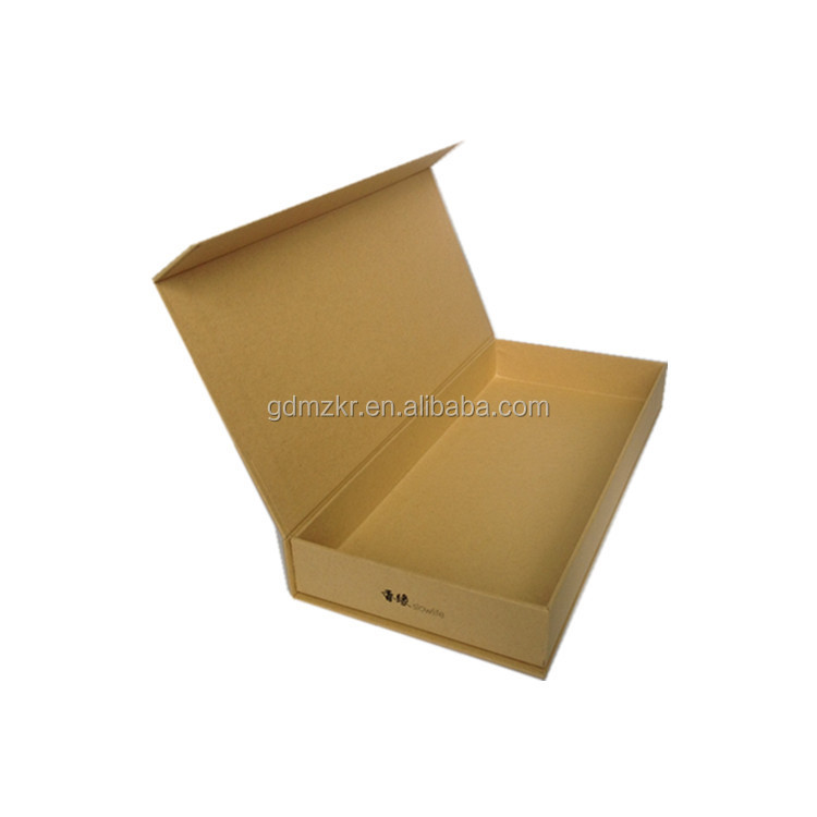 Flat pack luxury hard paper decorative paper packaging boxes