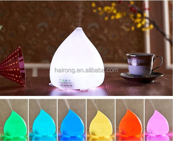 2017 high quality ultrasonic aroma diffuser/essential oil diffuser with LED light