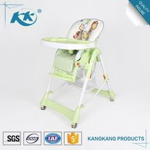 Good manufacturing superior quality wholesale plastic 3 in 1 child eating feeding kid high baby eating chair