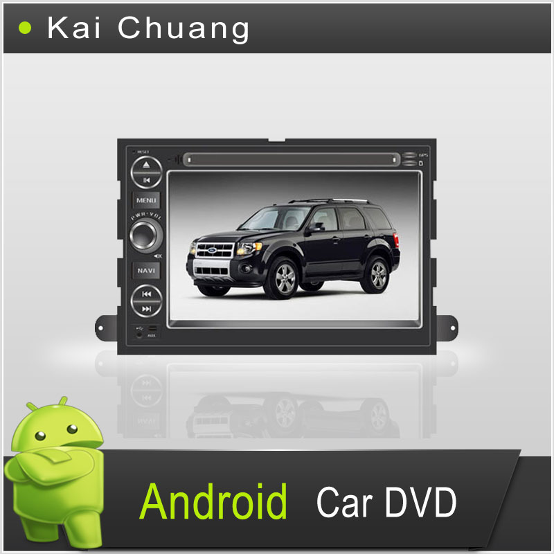 Great Touch Screen Android Car DVD Player for Ford Fusion