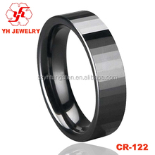 YH Jewelry Black Ceramic Ring Ceramic Ring For Men