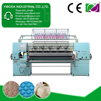 New design bed making sewing machinery that can quilt