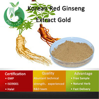 Ginseng Dry Extract/Ginseng Powder Extract/Korean Red Ginseng Extract Gold