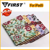 Newest fashionable leather cover case for ipad5