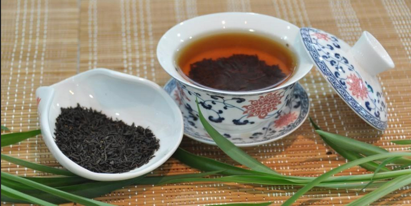 Chinese organic black leaf bulk black tea loose leaf tea