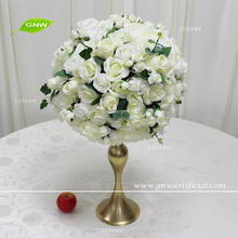 GNW CTRA1705020 Novel artificial small rose ball wedding table decoration centerpiece