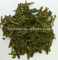 organic dragon well green tea 2nd grade/china well-known green tea leaf