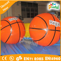 giant PVC inflatable model, PVC inflatable basketball