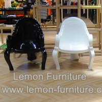 High quality hotsell fiberglass ice cream chair and table