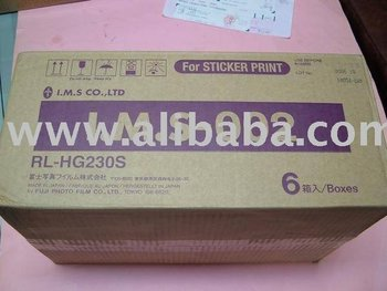Purikura Photo Sticker paper + ink Roll Box