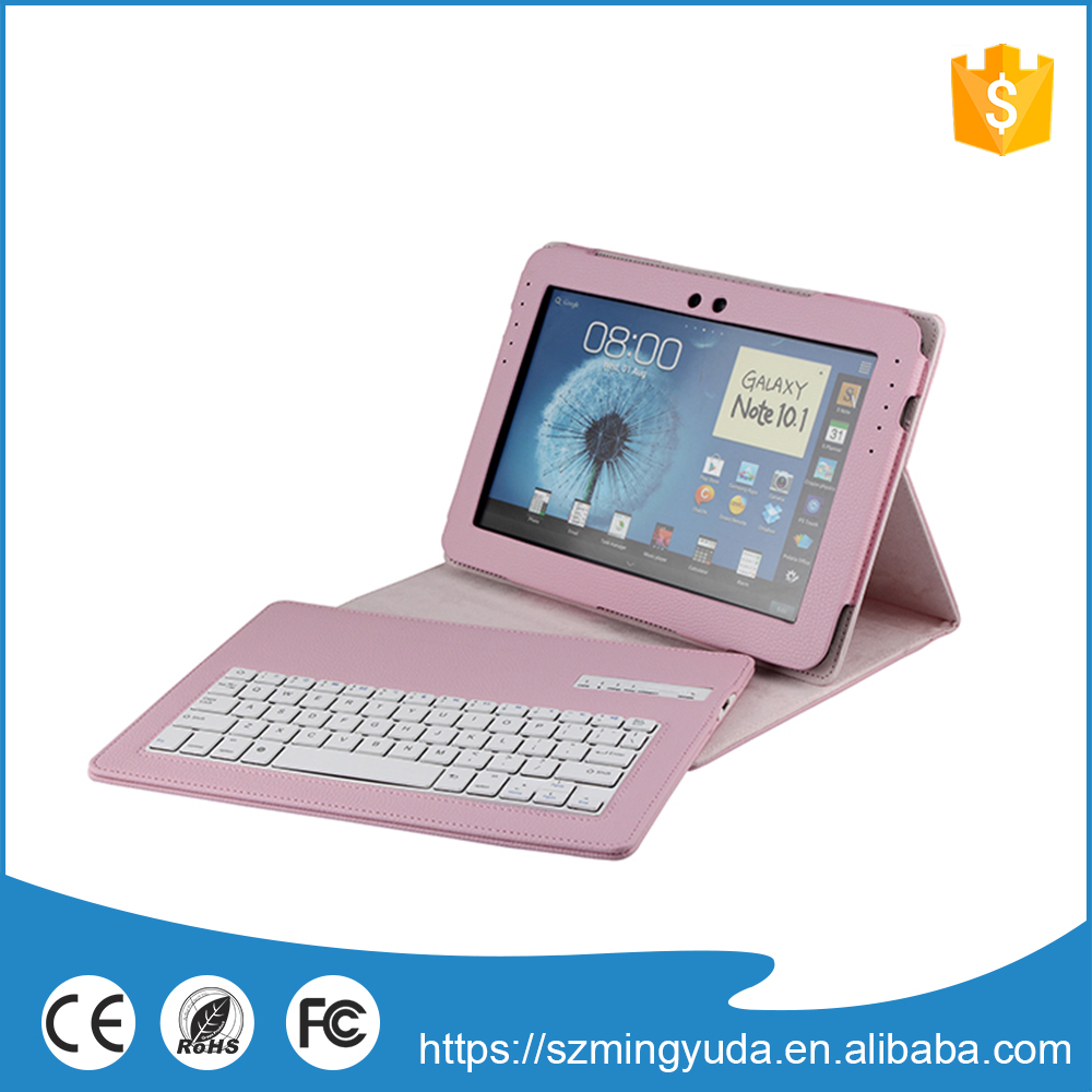 Good price bluetooth keyboard leather case