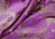 stocklot fabric chape price polyester satin jacquard fabric for garment to peru panama market