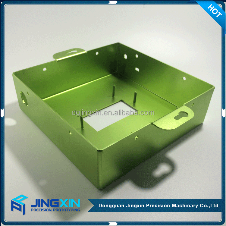 JINGXIN 2017 China Supplier Custom anodizing aluminum sheet Metal bending enclosurer box for sale