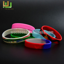 Fine quality friendship gifts the adjustable silicone ruler slap bracelet