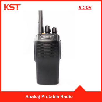 Waterproof IP67 K-208 Professional Two Way Radio for Marine Radio