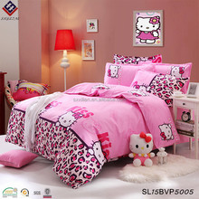Hot selling hello kitty bedding sets duvet cover sets bedsheet