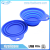 Home & Garden Non-Toxic Without Lids covered 100 % Food Grade Feeder Style Silicone Collapsible Pet Bowl