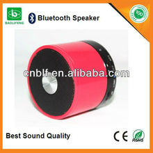 Hottest metal portable bluetooth speaker with circuit factory directly