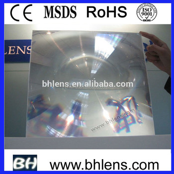 spot fresnel lens BHPA650-L fresnel lens price for collecting solar heat