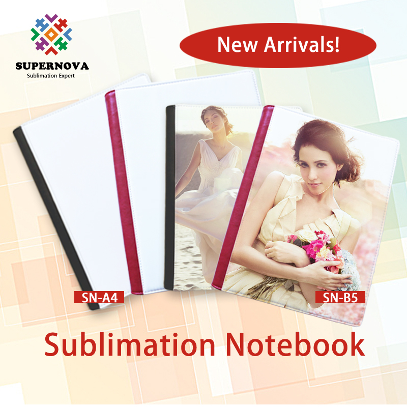 Cover of Notebook B5 for Sublimation Printing