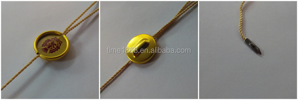 2015 GZ-Time Factory Customized trouser gold metal key string hangs label with logo wholesale