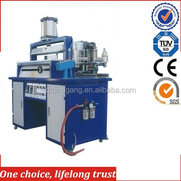 TJ-32 Photo Book Edge hard cover Hot Stamping embossing Machine
