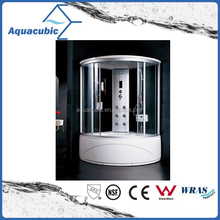 Luxury tempered glass complete enclosed standard size shower room