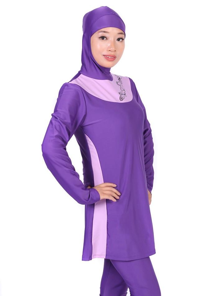 musulman costume maillots de bain 2017 hijab islamique modeste maillot de bain pour femmes. Black Bedroom Furniture Sets. Home Design Ideas