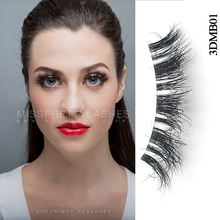 100% real mink Custom Packing High Quality Private Label 3d mink eyelashes
