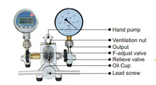 HS705A Hydraulic Pressure Calibration System Hand Pump