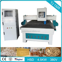 Wood Frame Cutting Machine Woodworking CNC Router TJ 1530