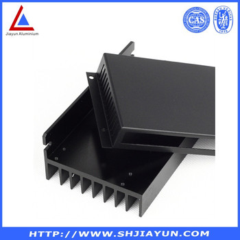 aluminum extrusion enclosure for motor electric