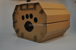 Factory directly wholesale Cardboard Cat Castle/cat cage/pet house