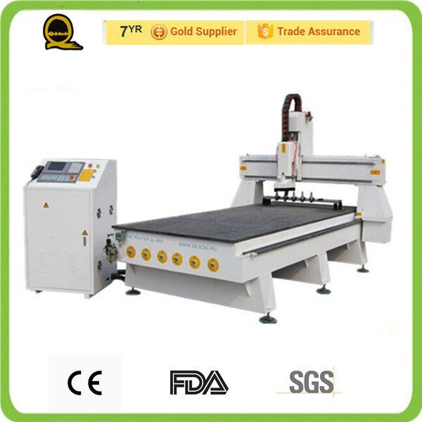 QL-M25 China supplier 1325 air cooling 6kw atc spindle cnc router