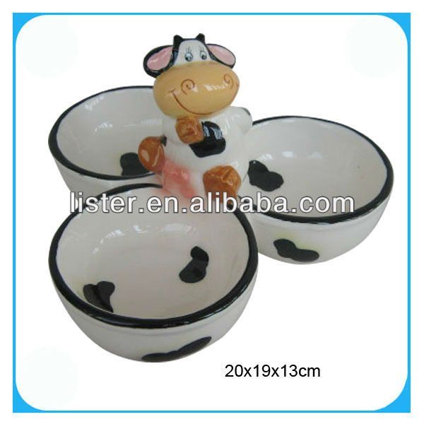 Porcelain kitchenware cow series