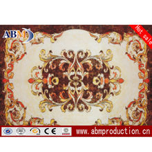Foshan OEM design Golden Micro-crystal Carpet Tile