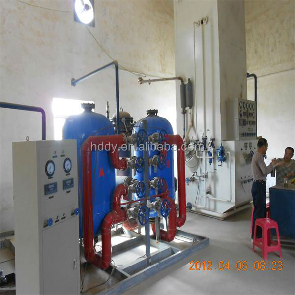 Medical oxygen plant air separation unit